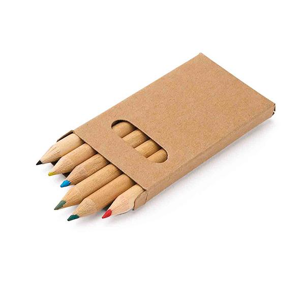 91750_Caixa de cartão com 6 lápis de cor