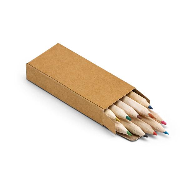 91931_Caixa de cartão com 10 lápis de cor